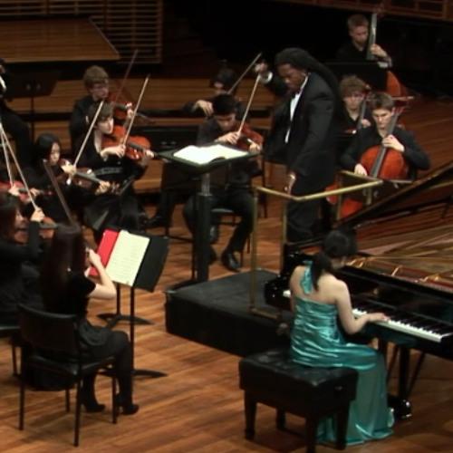 Luis Fernando Madrid conducts Mozart Piano concerto 20 D minor K. 466