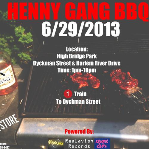 SUMMER REGGAE 2013 MIX (HENNY GANG BBQ PROMO)