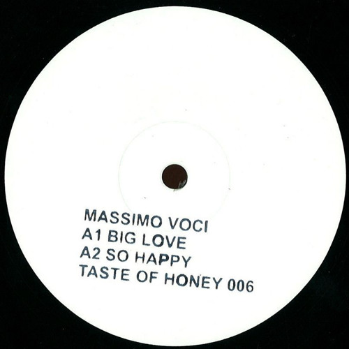 Massimo Voci - So Happy (Vinyl Only)