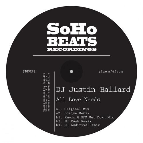 SBR058 : DJ Justin Ballard - All Love Needs (Original Mix)