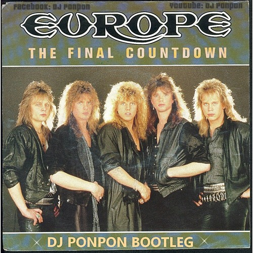 ✮ Europe - The Final Coutdown (Nicolas Ponsard Club Mas'Hup) ✮