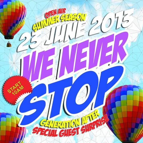 Umors @ We Never Stop After Party (Caserta) 23/06/2013 [FREE DOWNLOAD]