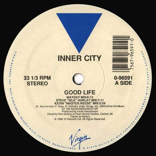 Inner City - Good Life (Manuel-M Detroit Sunshine Mix) FINAL