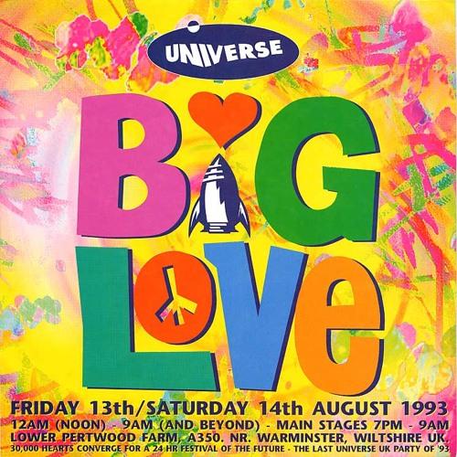 Carl Cox Concept - Live @ Universe Big love (13.08.93)