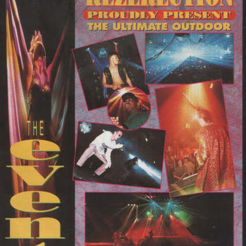 Dj SS Live @ Rezerection Event August 93
