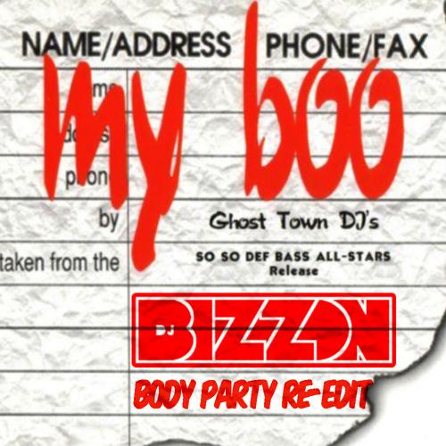 Ghost Town DJs x Ciara - My Boo's Party (DJ Bizzon Re-Edit) (Acap Out)