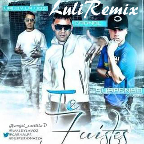 Waldy La Voz Ft. Carnal Y Suspenso Nazza - Te Fuiste ( Luli Remix 2013 )