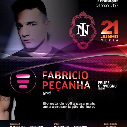 Fabricio Peçanha live @ In House Club 21-06-2013