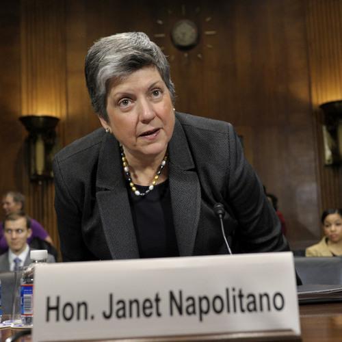 Homeland Security Secretary Janet Napolitano talks immigration