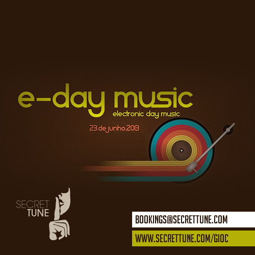 Gioc @ E-Day Music 2013 Edition