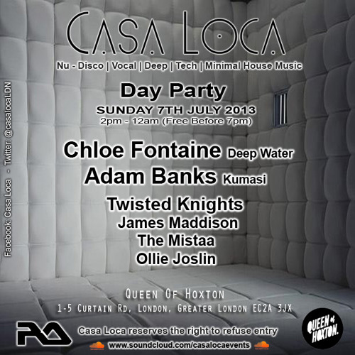 CASA LOCA Day Party Promo Mix by Chloe Fontaine