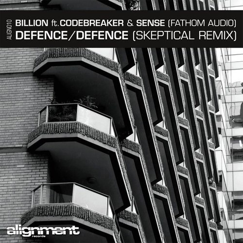 Billion feat Codebreaker & Sense (FATHOM AUDIO) - Defence (Skeptical Rmx).