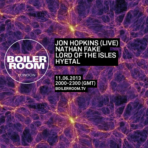 Jon Hopkins LIVE in the Boiler Room
