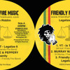 "Tippa Irie, Peppery, Murray Man, Lion Art, YT - Legalize Riddim 12"" - Preview"