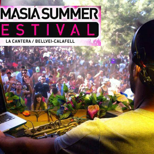 La Masia summer festival set by Joan Ibanez