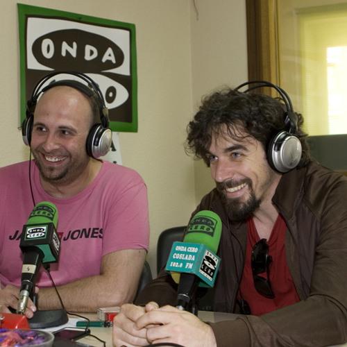 Entrevista en Onda Cero Coslada de Gozalo Mérida y Jacobo Muñoz