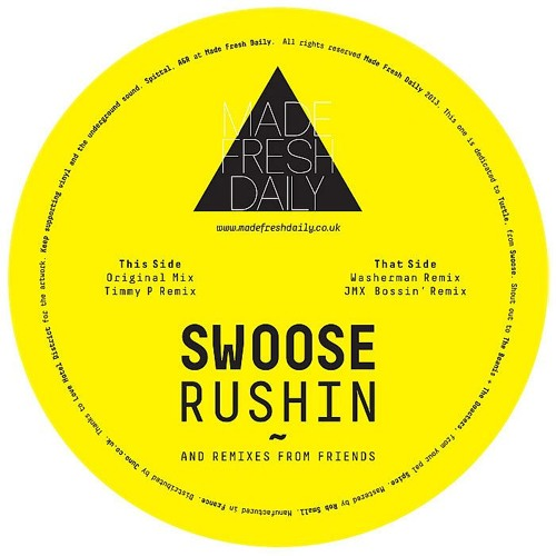 Swoose - Rushin' (Washerman Remix)