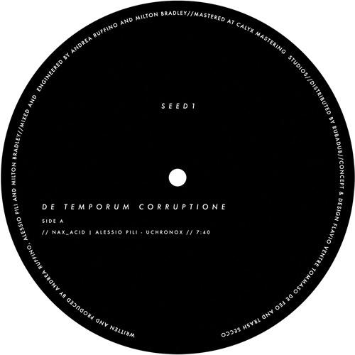 ACSeed1 - Alessio Pili|nAX_Acid - De Temporum Corruptione (Milton Bradley Remix)