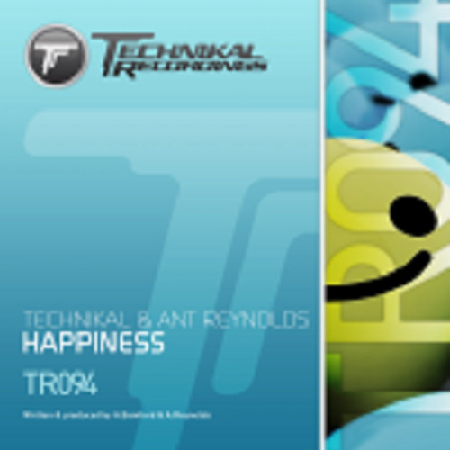 Technikal & Ant Reynolds - Happiness **Out 01/07/13 on Technikal Recordings**