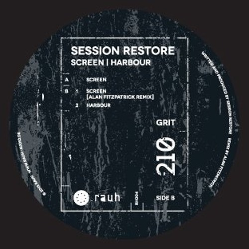 Session Restore - Screen (Alan Fitzpatrick Remix) VINYL ONLY