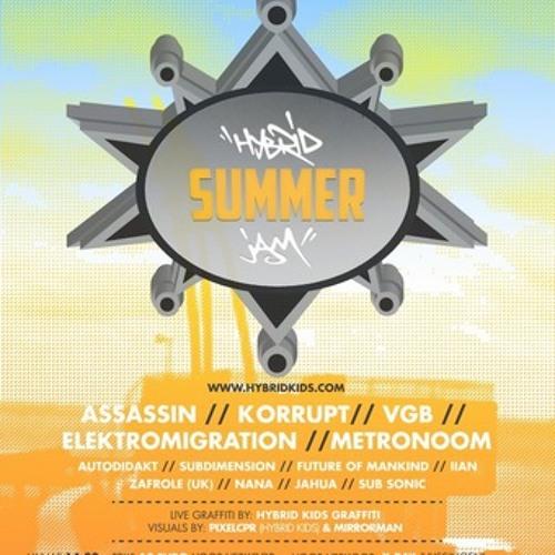 HYBRID SUMMER JAM 13-07-2013 PROMO MIX