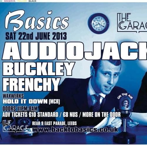 Audiojack @ Basics, Leeds [22.06.13]