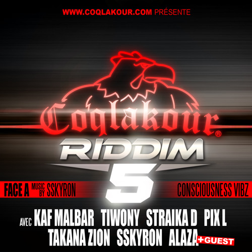 05 - Straika - By the grace - COQLAKOUR RIDDIM VOL.5 - FACE A (Consciouness Vibz)