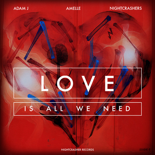 LOVE (Is All We Need) - Adam J feat. Amelle & Nightcrashers