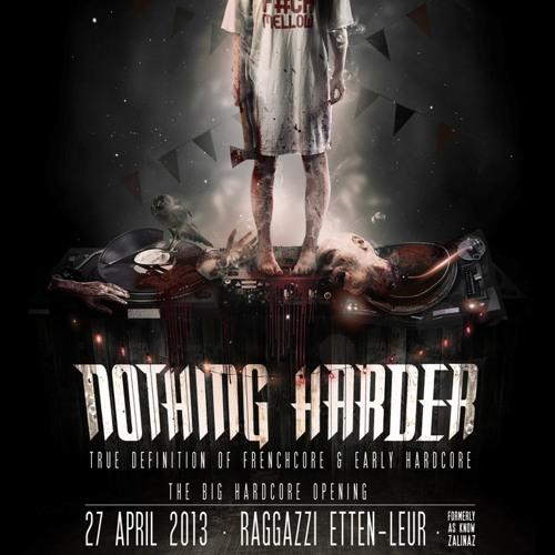 Johnny Napalm @ Nothing Harder(27 -04-2013 Raggazzi Ette - Leur NL)