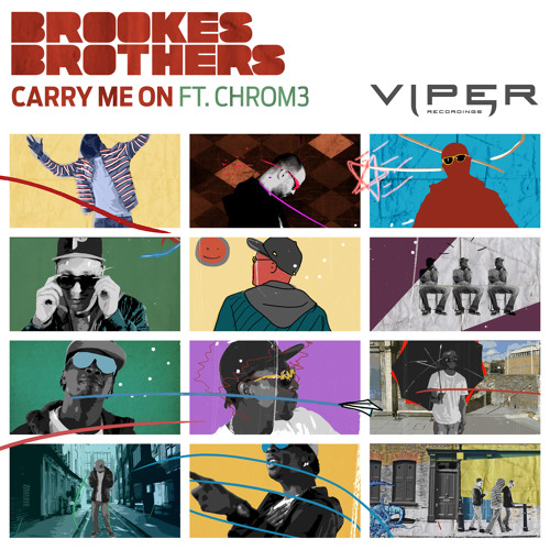 Brookes Brothers feat. Chrom3 - Carry Me On (Radio Edit)