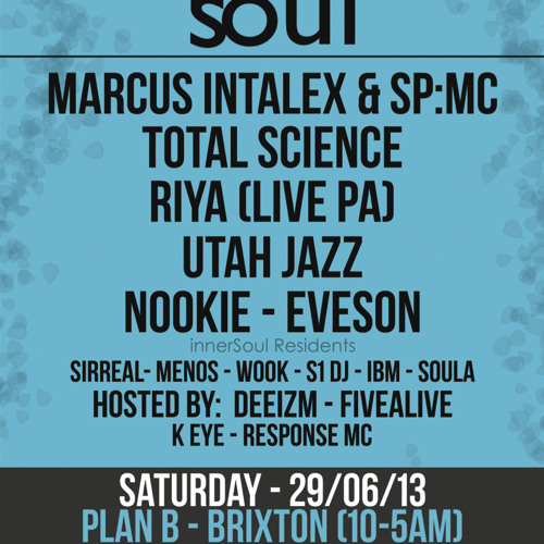 innerSoul Promo Mix by Total Science (CIA)