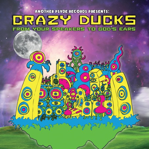 APRCD003 - Crazy Ducks - From Your Speakers To Gods Ears (Unreleased APR Promo) February 2014