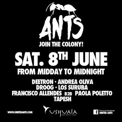 Tapesh @ ANTS Ushuaia Ibiza  08.June 2013