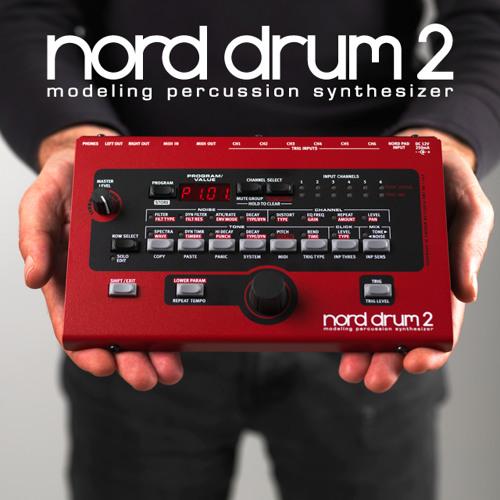 Nord Drum 2 demos