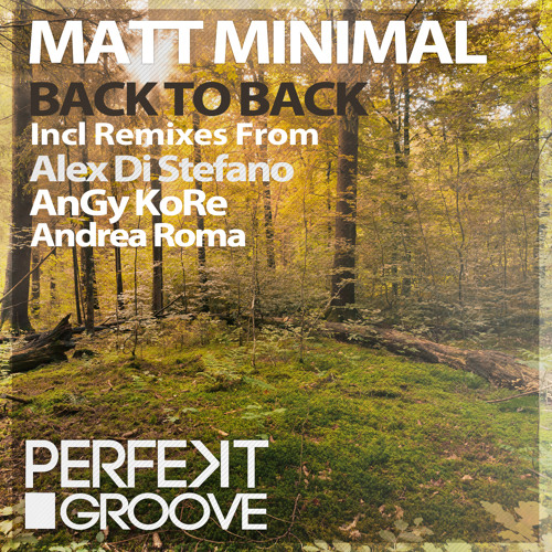 Matt Minimal - Back To Back ( Original Mix ) [Perfekt Groove] *Preview*
