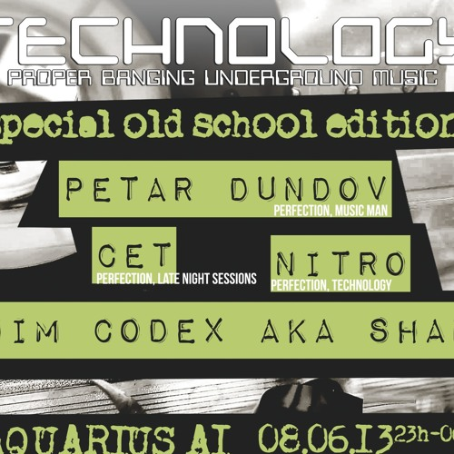 Technology (Old School Edition), Aquarius, Zagreb, Croatia (08.06.2013.)