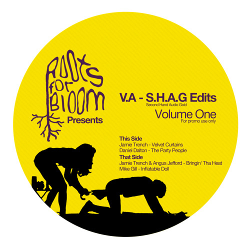 A1 - Jamie Trench - Velvet Curtains - SHAG Edits Vol.1 - Roots For Bloom - RFBR003