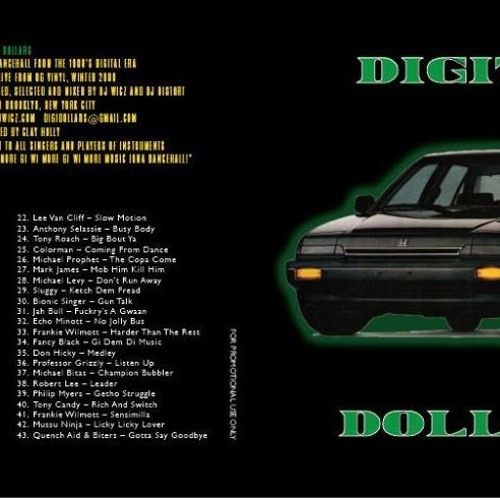 Digital Dollars - '80s digital reggae mixtape