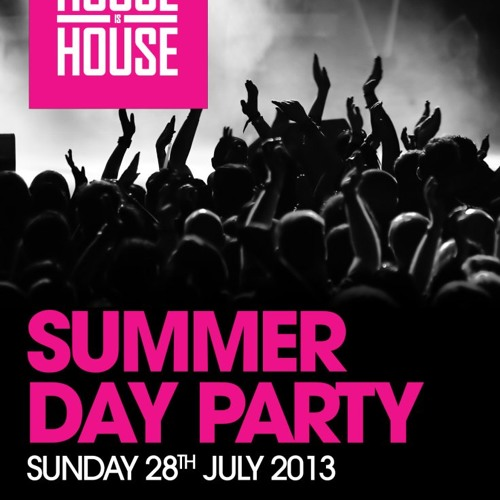 HOUSE IS HOUSE AND NASTY FUNK ALL DAYER SUMMER PARTY @ XOYO LONDON-28th July 2013-CARLOS ARIES MIX