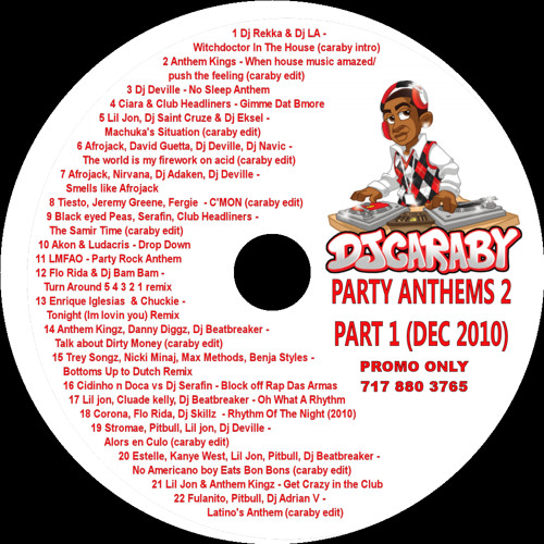 Caraby party anthems fall 2010 part 1