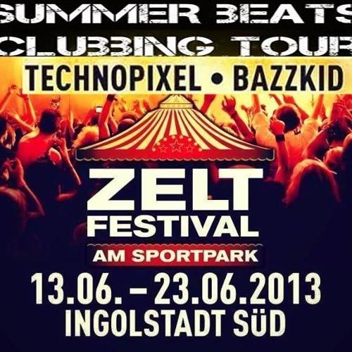 BaZZkid - TechnoPixel - Summer Beats  -  22-06 - 2013