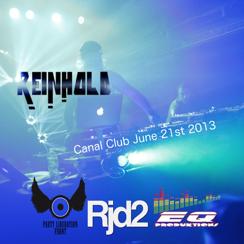 Reinhold Live At The Canal Club (RjD2 Direct Support)
