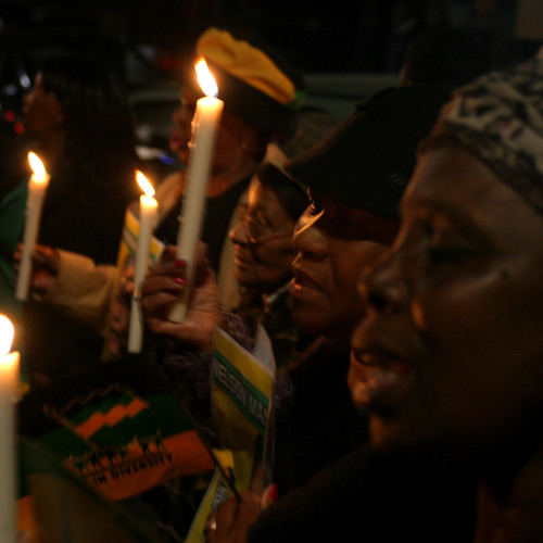 Report: Candlelit prayer vigil for Mandela with the ANC-YL in Soweto