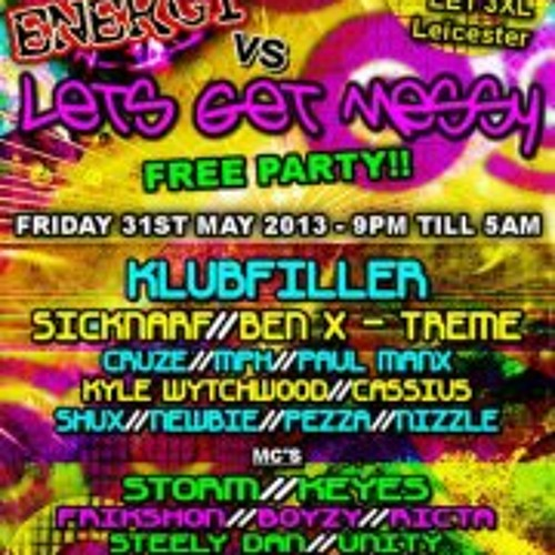 Cruze & MC Frikshon Live @Raw Energy vs Let's Get Messy - 31.5.2013 (DOWNLOAD)