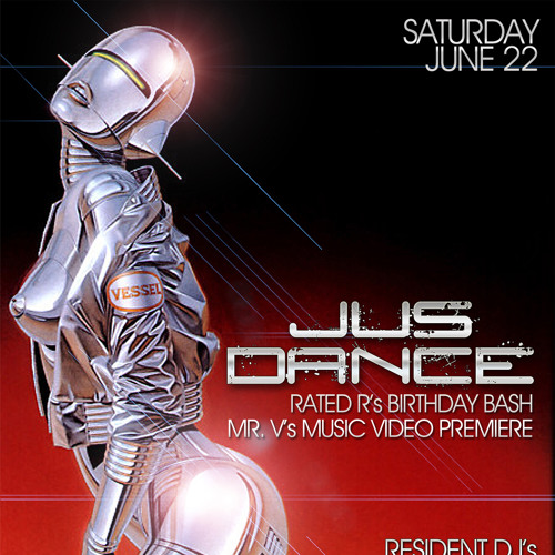 """REPLAY: Jus Dance - 6.22.2013 - Mr. V & Rated R """"Live"""""""