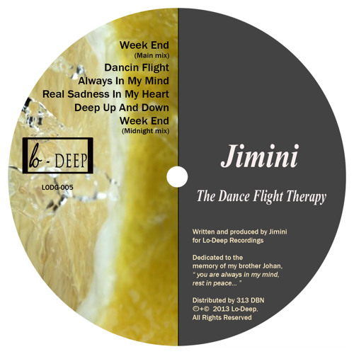 Jimini - Week End (Main Mix) [LODG-005]