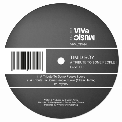 VIVa Limited 024 /// Timid Boy - Psycho