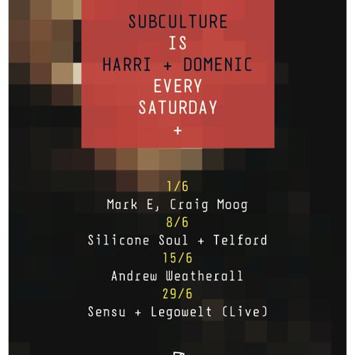 Subculture @ Sub Club, 08.06.2013