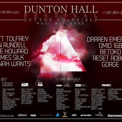 Dunton Hall Festival - Tantalise Promo Mix (Dave Thatcher)