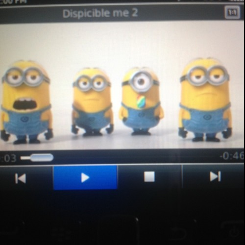 Dispicable Me - Banana Song
